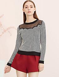 Damen Hose - Einfach Kurze Hose Polyester Unelastisch