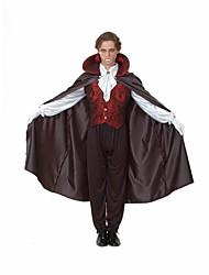 Costumes de Cosplay Zombie Vampire Fête / Célébration Déguisement d'Halloween Noir Couleur PleineHaut Pantalon Collier Gants Manteau