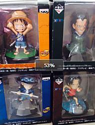 Figures Animé Action Inspiré par One Piece Cosplay PVC 8 CM Jouets modèle Jouets DIY
