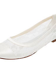 Women's Flats Spring / Summer Others Stretch Satin Wedding / Party & Evening / Dress Flat Heel Others Ivory Others