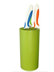 Support de porte-couteau bloc de cuisine sooktops outil en plastique serre-tube chromophieux