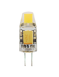 1W G4 Luces LED de Doble Pin T 1 COB 90-100 lm Blanco Cálido Impermeable / Decorativa V 1 pieza