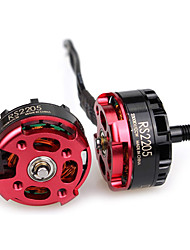 Emax RS2205 2300KV Racing Edition Brushless CCW Motor for DIY Project - RED WITH BLACK