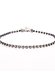 Women's Choker Necklaces Tattoo Choker Crystal Crystal Simulated DiamondBasic Design Circular Design Unique Design Tattoo Style