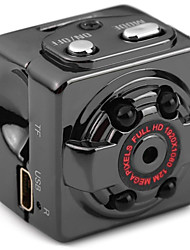Metal Mini Camcorder 720P 1080P Negro