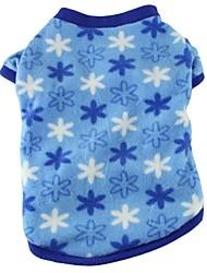 Gatti Cani T-shirt Pigiami Abbigliamento per cani Estate Primavera/Autunno A quadri Divertente Casual Rose Blu Rosa Leopardo