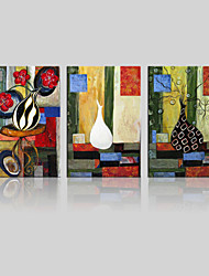 JAMMORY Unframed Canvas Print Landscape / Floral/Botanical ModernThree Panels Canvas Square Print Wall Decor For Home