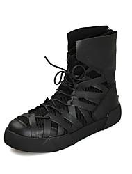 Mens Chukka Boots Tênis de Corrida Homens Anti-Escorregar / Anti-desgaste Couro Ecológico EVA Correr / Esportes Relaxantes / SertãoTênis