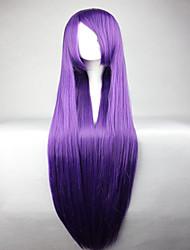аниме женщины любовник Umineko нет Naku коро Ni Фредериции Bernkastel фиолетовый длинный прямой парик косплей