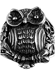 Ringe Ohne Stein Halloween / Party / Alltag / Normal Schmuck Stahl Herren Ring 1 Stück,8 / 9 / 10 / 11 Silber