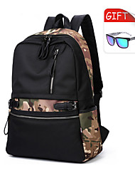 Men Oxford Cloth Casual / Outdoor Backpack Blue / Green / Black / Multi-color