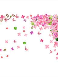 Romance / Mode / Floral Stickers muraux Stickers avion Stickers muraux décoratifs / Stickers mariage,PVC MatérielLavable / Amovible /