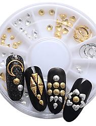 1SET Nail Art Décoration strass Perles Maquillage cosmétique Nail Art Design