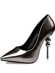 Women's Heels Spring / Summer / Fall /  Comfort  Casual Stiletto Heel Beading Black / Red / Silver / Gray Walking