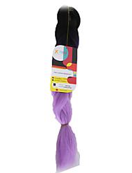 Others Огромный Наращивание волос 18Inch Kanekalon Recommended Buy 4 Packs Full Head нитка 115g грамм косы волос