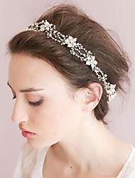 Women's Alloy / Imitation Pearl / Cubic Zirconia Headpiece-Wedding / Special Occasion / CasualHeadbands / Head Chain