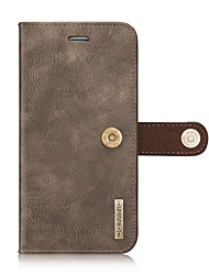 Genuine Natural Cowhide Leather Cover Case for iPhone 7 Plus 7 6s 6 Plus Wallet Card Holder