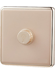 Extreme Universal Dimmer Switch 86 Switch Panel Concealed Wall Switch Jindian Large Board Series