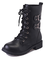 The new autumn and winter boots boots with thick single boots Martin thick soled boots female motorcycle boots