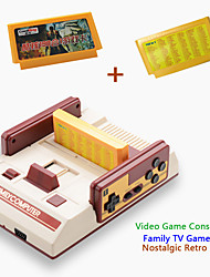 Video Game Console FCompact Classic Family TV Game Player jeux juegos 3pcs Game Cards Send With Retail Box