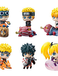 Naruto Hokage PVC 5cm Figuras de Ação Anime modelo Brinquedos boneca Toy