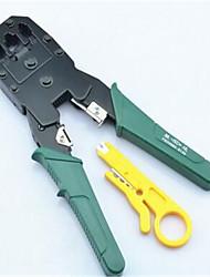 réseau de poignée en plastique pince à sertir trois 4-6-8 trois pinces de fil avec des outils électriques professionnels