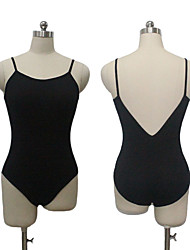 Cotton/Lycra Camisole Dance Leotard V Back Ballet Dancewear More Colors for Girls and Ladies