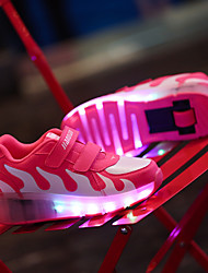 LED Light Up Shoes,Kid Boy Girl Roller Shoes / Ultra-light Single Wheel Skating / Athletic / Casual