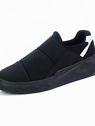 Men's Sneakers Spring / Summer / Fall / Winter / Comfort  Casual Split Joint / Lace-up Black / WhiteOthers /