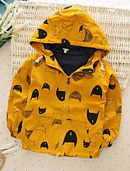 Boy's Casual/Daily Print Suit & BlazerCotton Spring / Fall Yellow