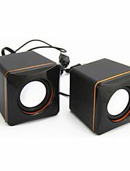 Small Squares of USB Portable Multimedia Speaker Box