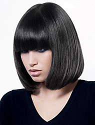 Hot Sale Bob Hairstyle Straight Capless Wigs Top Quality Human Hair