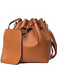 Damen PU Alltag Bucket-Taschen