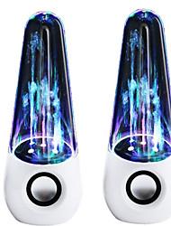 Waterdance haut-parleur coloré fontaine lampe voiture de tête de balle audio