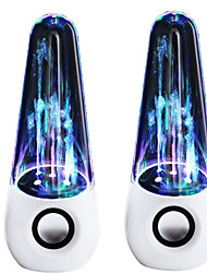 waterdance динамик красочный лампа фонтан пуля голова автоаудио