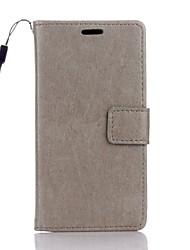 Pour Coque Huawei P9 Lite P8 Lite Portefeuille Porte Carte Avec Support Coque Coque Intégrale Coque Couleur Pleine Dur Cuir PU pour Huawei