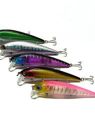 1 pcs kleiner Fisch kleiner Fisch Zufällige Farben 17 g Unze mm Zoll,Fester Kunststoff Köderwerfen
