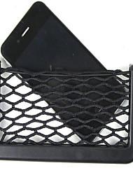 carro utensílio caixa de rede conjunto de saco caixa de telefone do carro caixa de detritos saco recibo saco t9-3d 1886