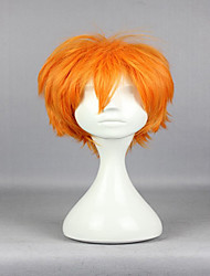 Popular New Anime Superfine Haikyuu!! Shoyo Hinata 30cm Short Orange Fashion High Quality Cosplay Wig