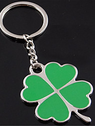 Clover Key Chain Car Keys Hanging
