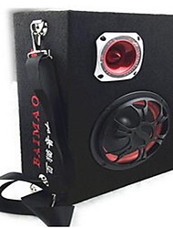 Car 10-Inch Square Car Subwoofer 12V24V220V Car Audio