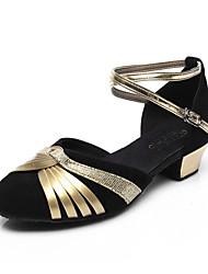 Non Customizable Women's Dance Shoes Sparkling Glitter Sparkling Glitter Ballet / Latin / Jazz / Tap / Modern / Swing Shoes / Salsa Heels