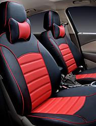 couverture de siège housses en cuir de voiture dédiés de siège