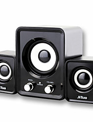JT2805 Computer Speaker Combination Mini 2.1 USB Subwoofer Car Audio