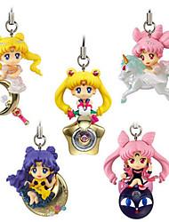 Sailor Moon Princess Serenity PVC 5cm Anime Action-Figuren Modell Spielzeug Puppe Spielzeug