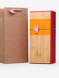 (Note 36 * 16 * 10cm) Red Bamboo Storage Box