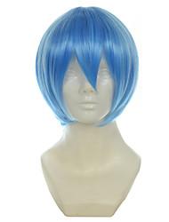 evangelion eva rei Ayanami luz azul curto halloween reta perucas perucas traje perucas sintéticas