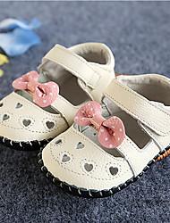 Mädchen-Flache Schuhe-Outddor / Lässig-Leder-Flacher Absatz-Others / Komfort-Rosa / Rot / Weiß