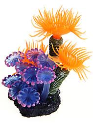 Оформление аквариума Орнаменты Водное растение Пластик