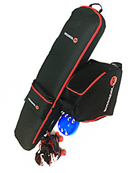Unisex Multifunctional 30L L Ski & Snowboard Pack Red Black